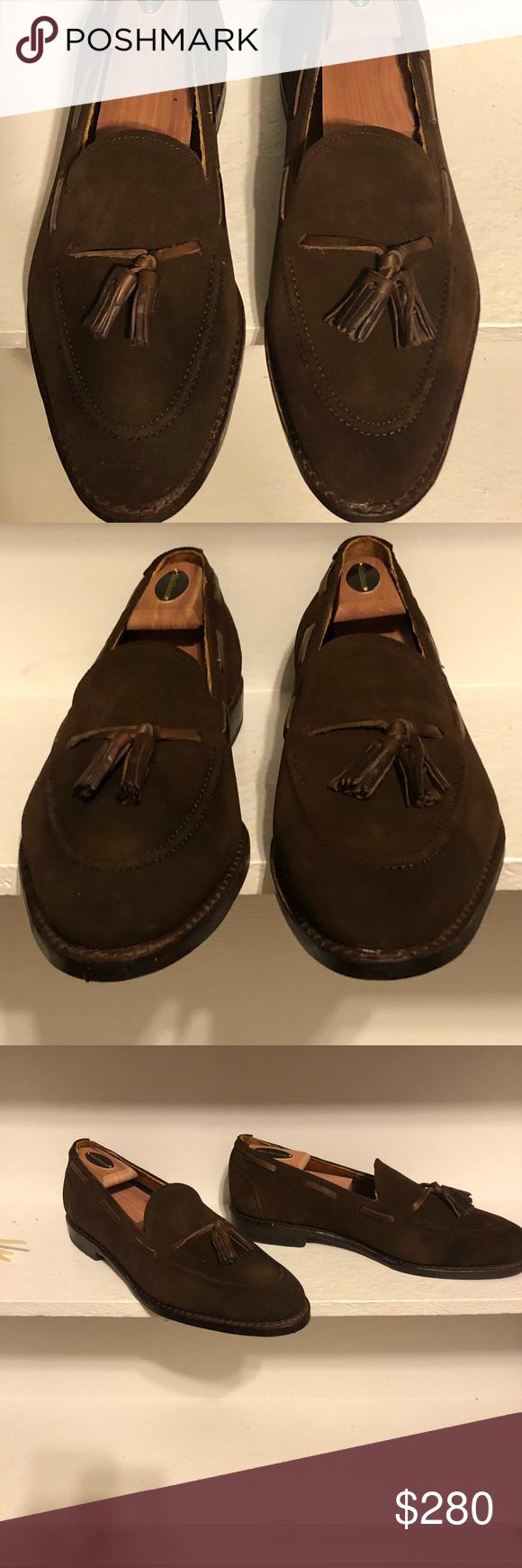 Suede loafers, Suede, Allen edmonds shoes