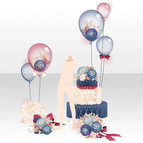 花咲き乱れる小部屋でほほえむ少女 @games -アットゲームズ-