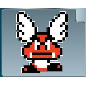 Winged Goomba From Super Mario Bros 3 Vinyl Decal Sticker For The
