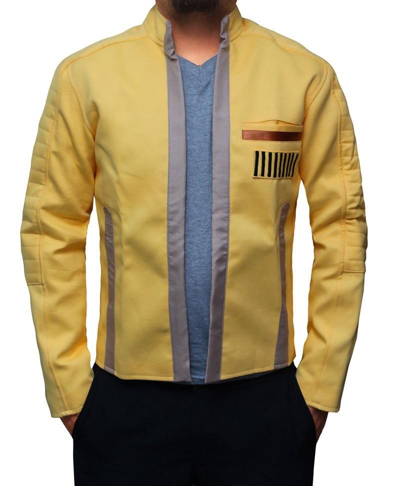 Star Wars Luke Skywalker Yellow Jacket In 2020 Mens Clothing Brands Jackets Suit Fashion