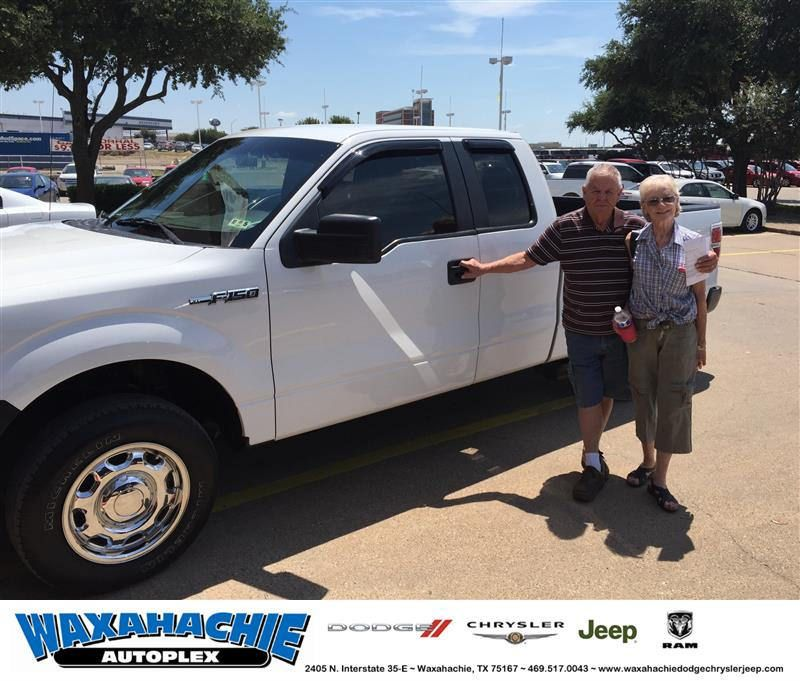 https://flic.kr/p/JQXLAU | Happy Anniversary to Robert on your #Ford #F-150 from Scott Smith at Waxahachie Dodge Chrysler Jeep! | deliverymaxx.com/DealerReviews.aspx?DealerCode=F068