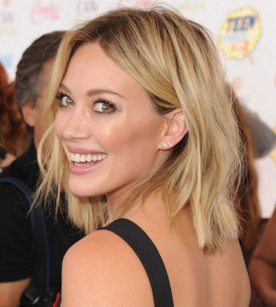 hilary duff bob hair