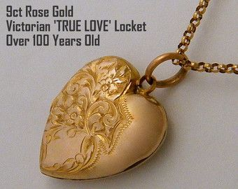 Antique Locket necklaces are the perfect gift for any special occasion... Wedding Gift for Brides, Anniversary Gift for Wife, Birthday Gift for