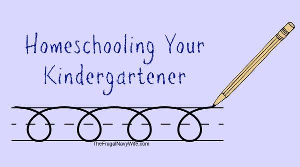 Homeschooling your Kindergartener #homeschool # ...