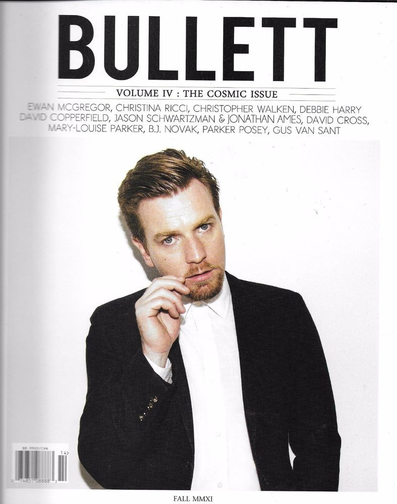 Bullett Magazine Ewan McGregor Christina Ricci Debbie Harry Anna Kendrick