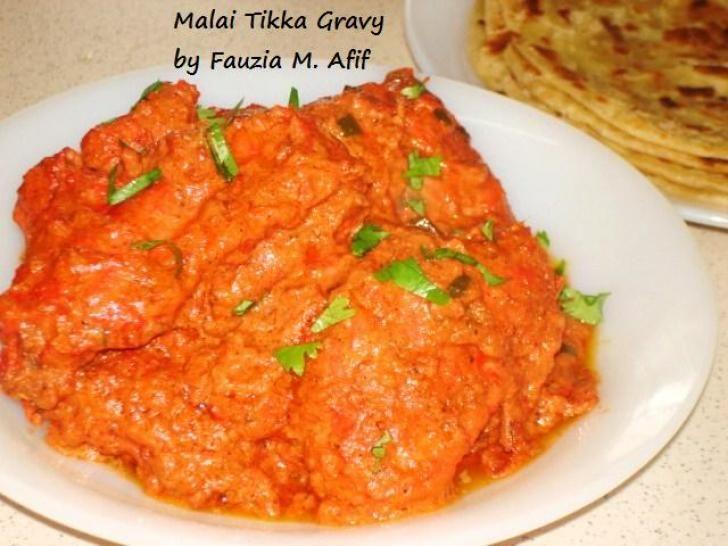 Malai Tikka Gravy Fauzias Kitchen Fun Chicken