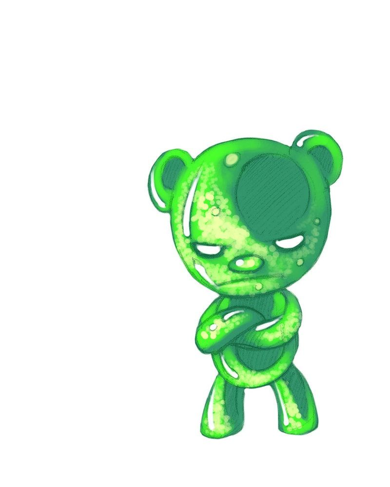 Angry Gummy Bear Word Bear Wallpaper Cartoon Wallpaper Cute Wallpapers