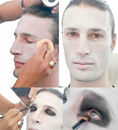 Excepcional Maquiagem de Halloween para Homens - Caveiras e outras fantasias  BS94