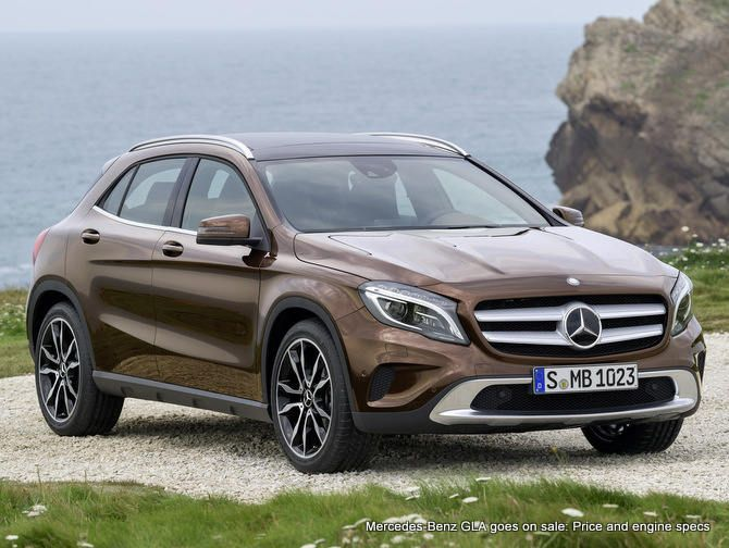 mercedes benz gla put on sale india launch 2014