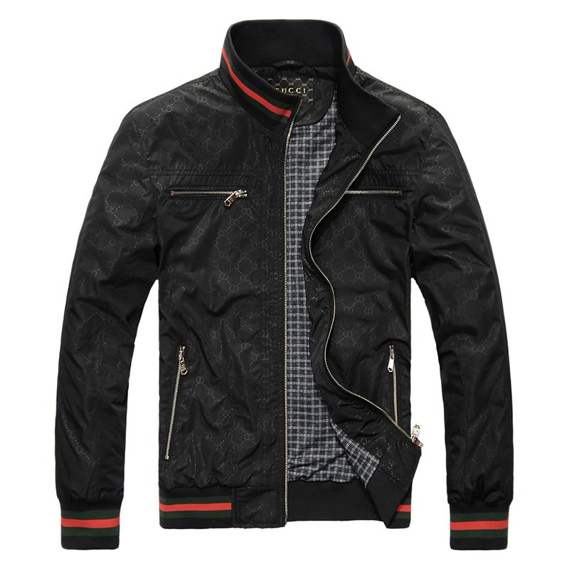 BLACK MEN CLOTHING | GUCCI menu0026#39;s leisure jacket Gucci men Gucci jacket jackets coat menu0026#39;s ...