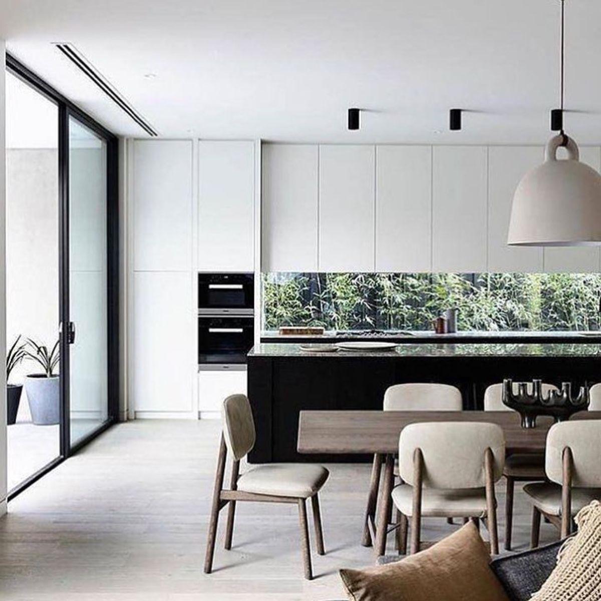 13 Dining Room And Kitchen Design Minimalist: Minimal Interior Design Inspiration