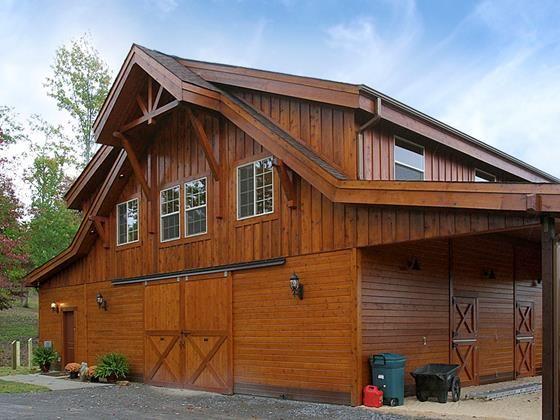 The Denali Barn Apartment 72 | Horse Barn Living | Pinterest | Barn ...