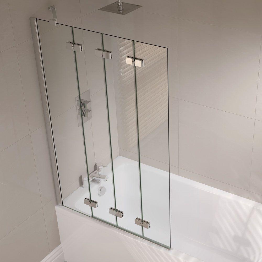 Bath/shower Folding Frameless Glass Panels   Google Search
