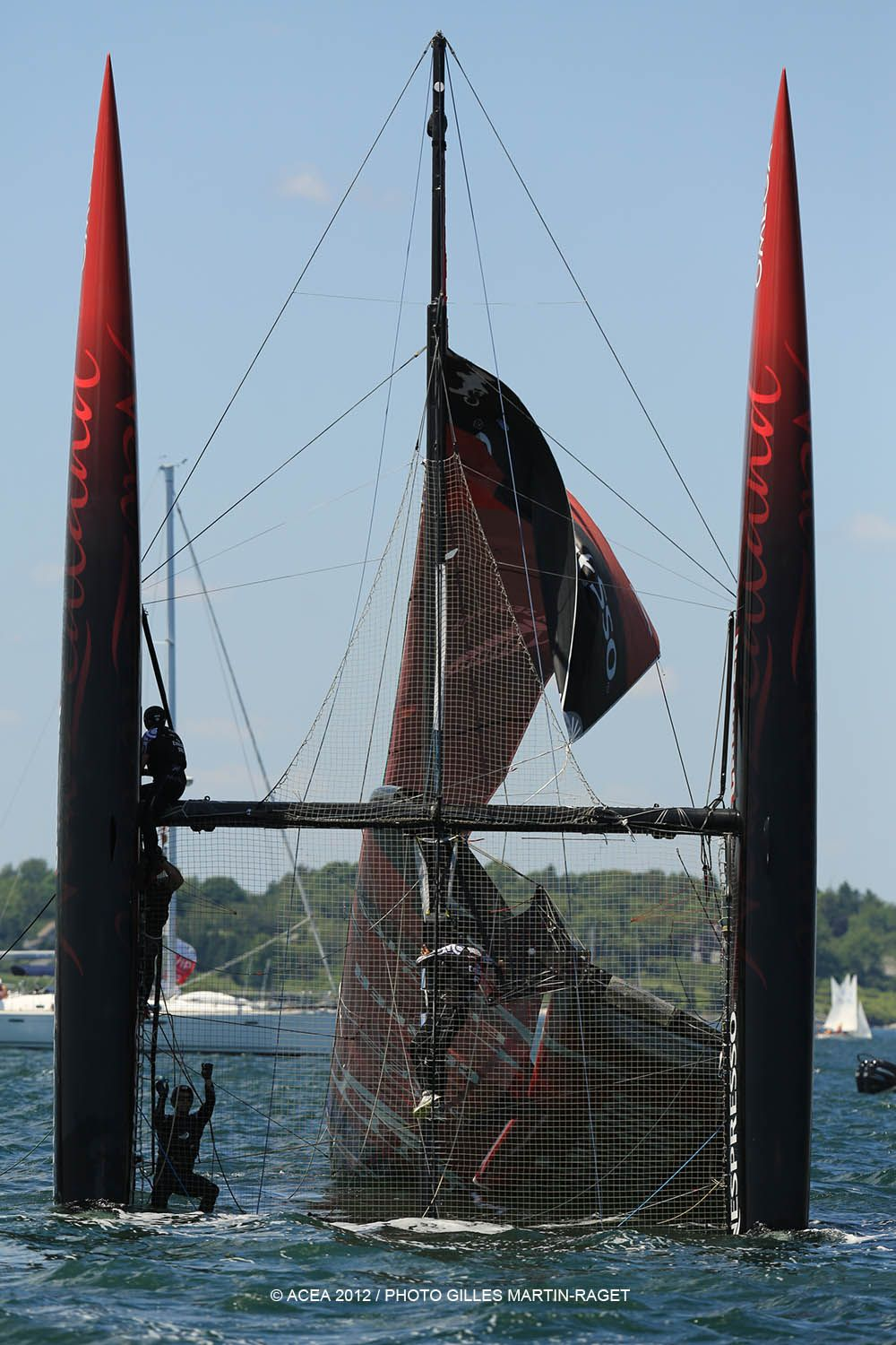 Emirates Team NZ capsizes - do you you think you went?