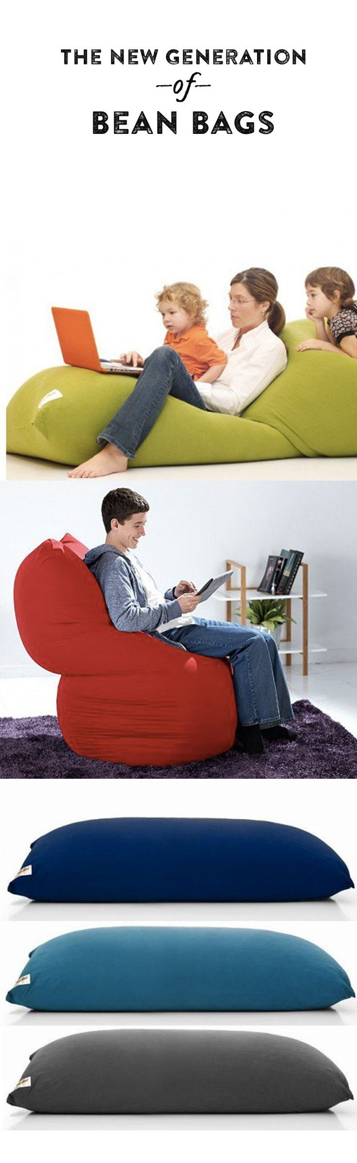 A Yogibo may resemble an oldschool bean bag chair, but it