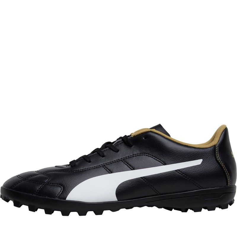 83c9b124852e2 Puma Mens Classico C TT Astro Football Boots Black White Gold. Find this  Pin and more ...