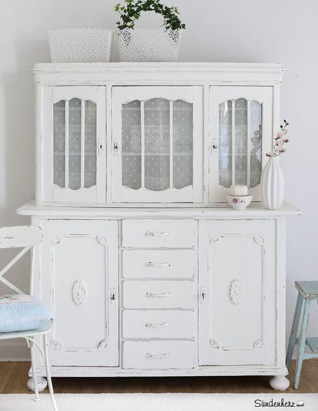 Vintage Buffets - Shabby Chic Buffet \