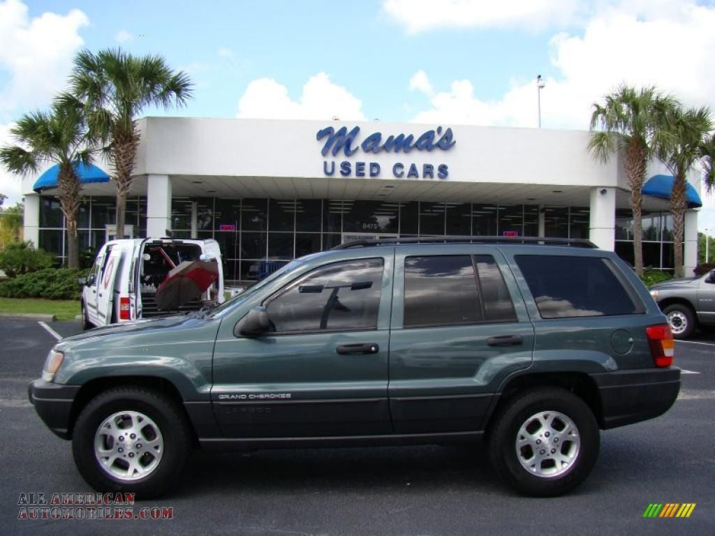 2003 Jeep Grand Cherokee Laredo in Onyx Green Pearlcoat