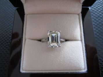 Pin On Emerald Cut Diamond Engagement Rings