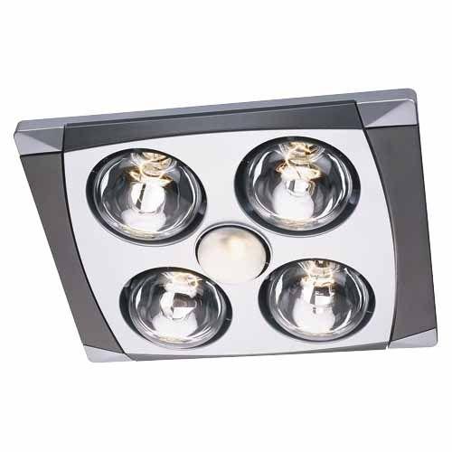 Heat Fan Light Kit With Four Heat Lamps 100 From Mitre 10