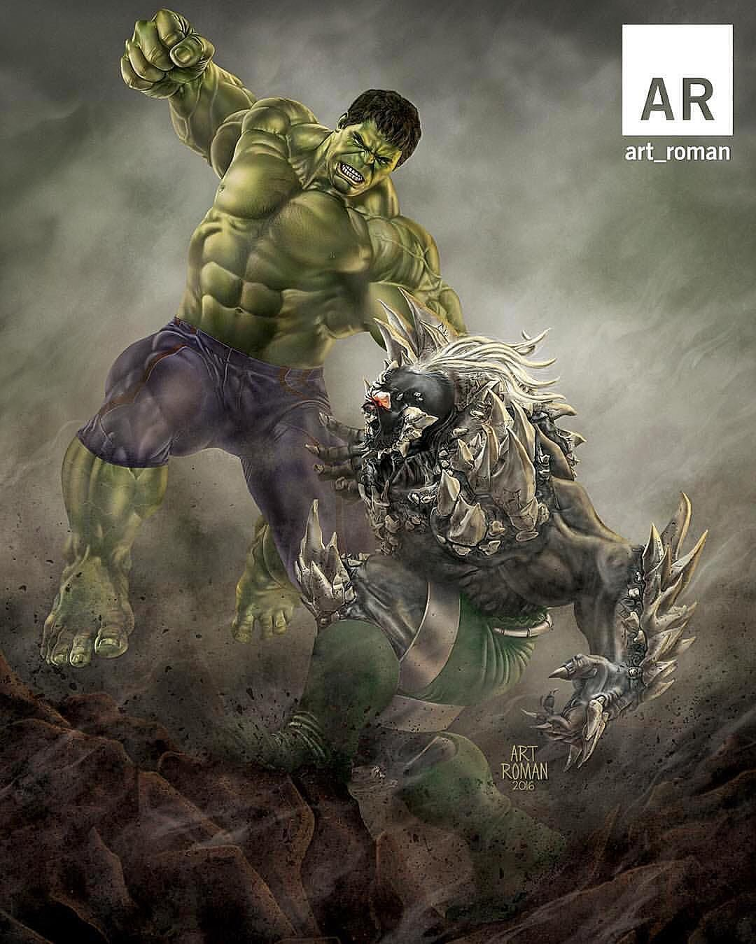 #Hulk #Fan #Art. (Taking All Bets! Hulk Vs Doomsday) By