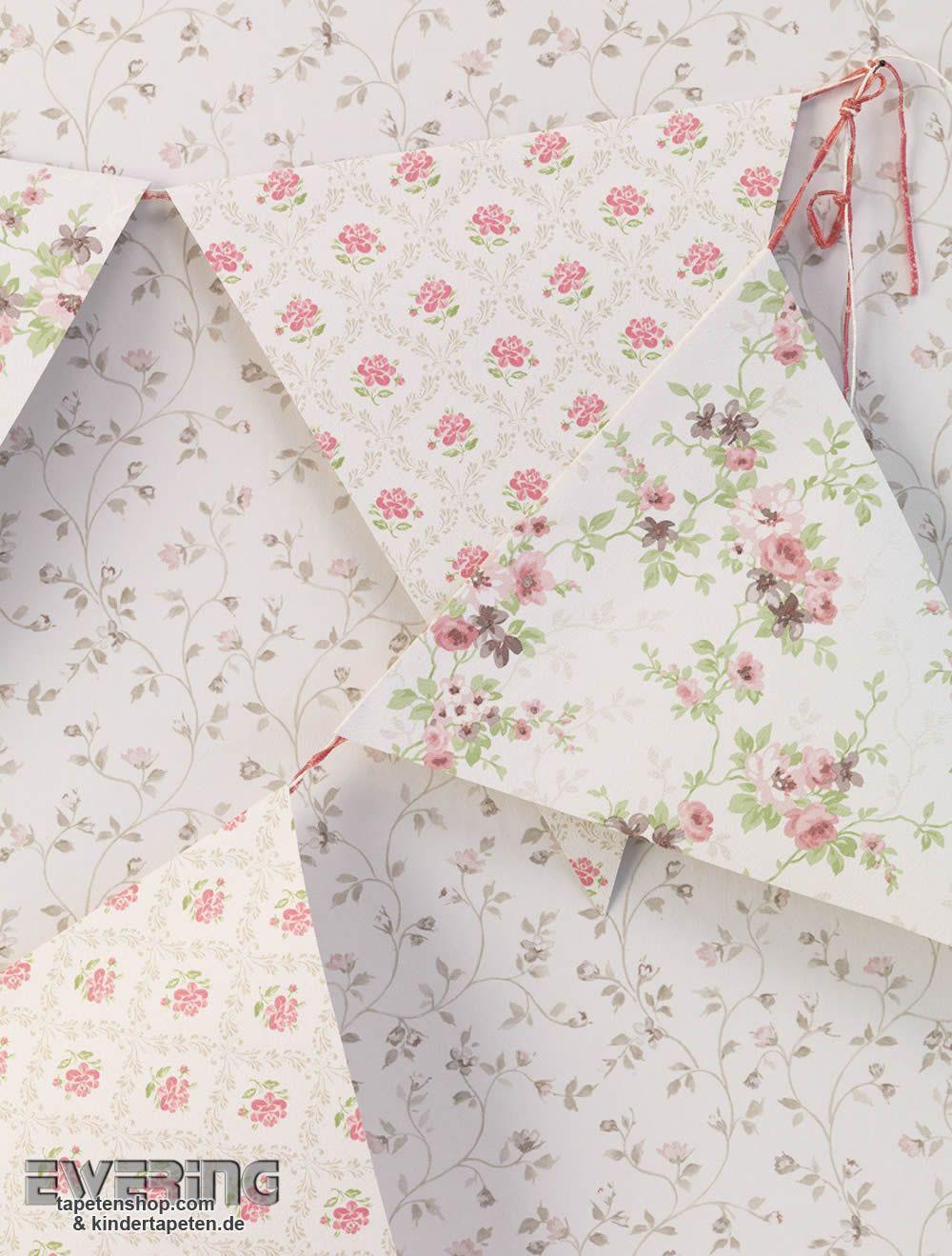 Rasch Textil Petite Fleur 3 11 Diese Rosa Und Roten Blümchen Der Drei  Mustertapeten Bringen Farbe