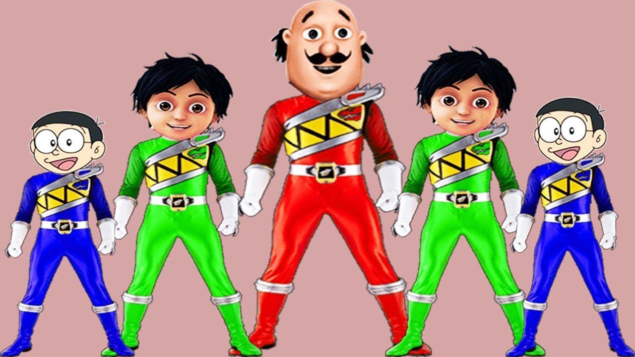 Colors Learn Motu Patlu Shiva Doraemon Head Po Learn Colors Ice