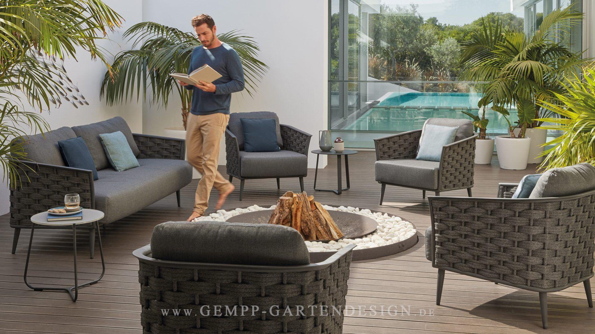Brilliant Lounge Möbel Garten Ideen Von Elegante Loungemöbel / Gartenmöbel Für Eine Zeitlose