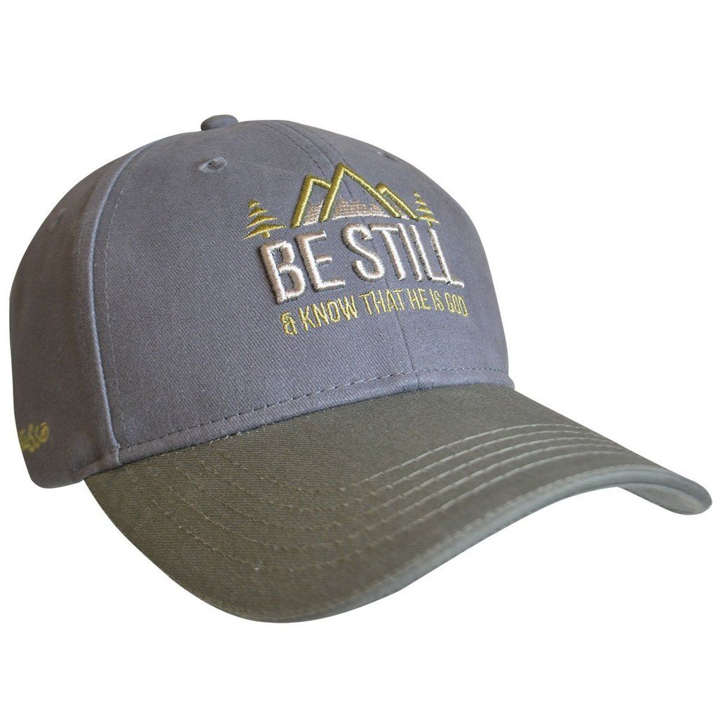God is Good All The Time I Love Jesus White Hat Cap Adjustable Religious Faith