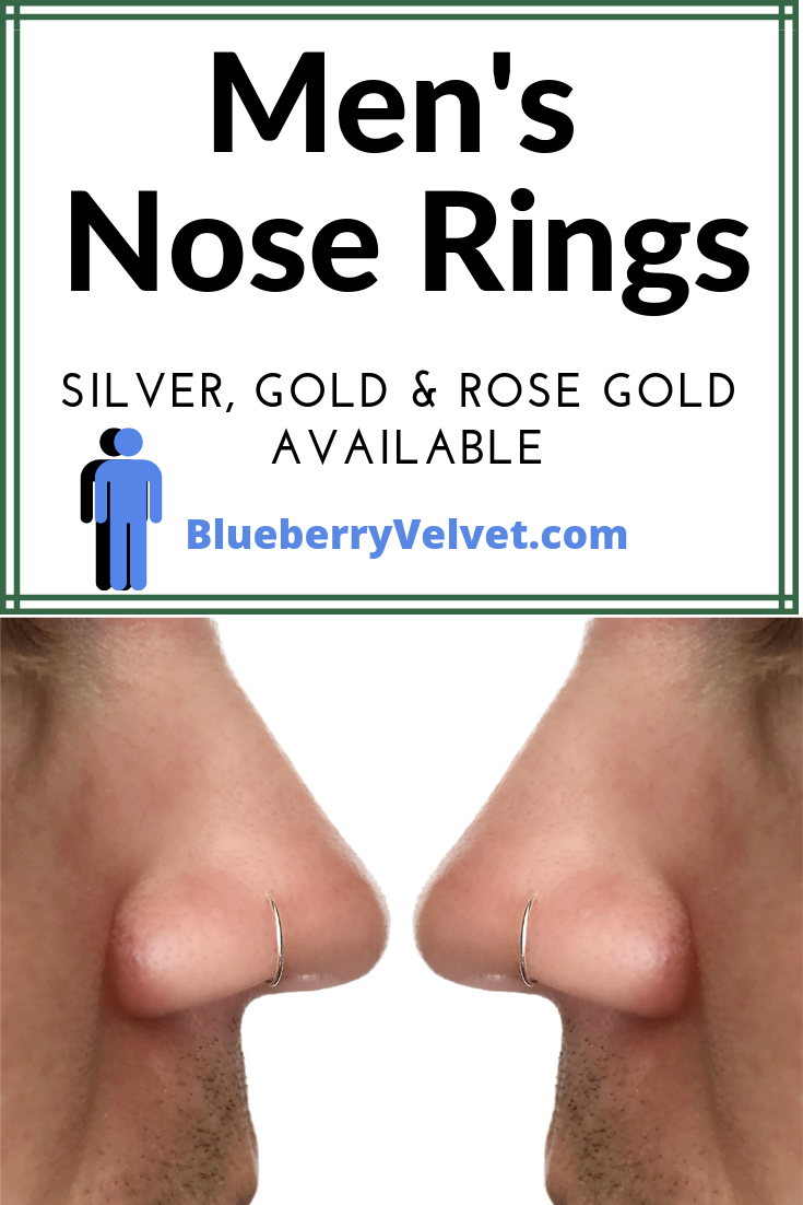 Nose Piercing Nose Ring Unisex Nose Ring Guys Nose Rings Etsy In 2020 Nose Ring Men Nose Piercing Nose Hoop