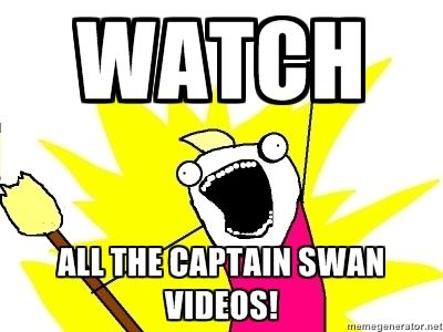 captain swan videos! I have watched many..