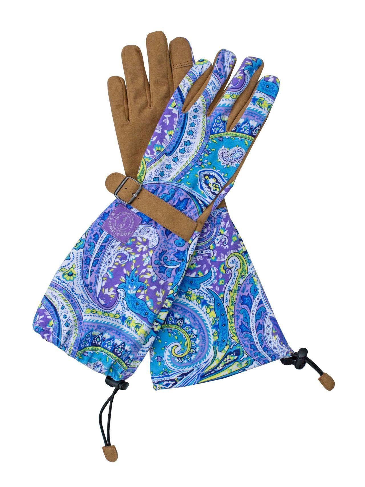 Gardening Gear and Tools   Long Garden Gloves-Med.