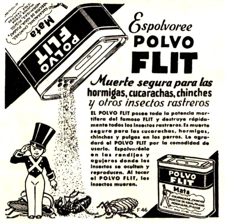 Flit Decada Del 30 Publicidad Retro Publicidad Imagenes Del
