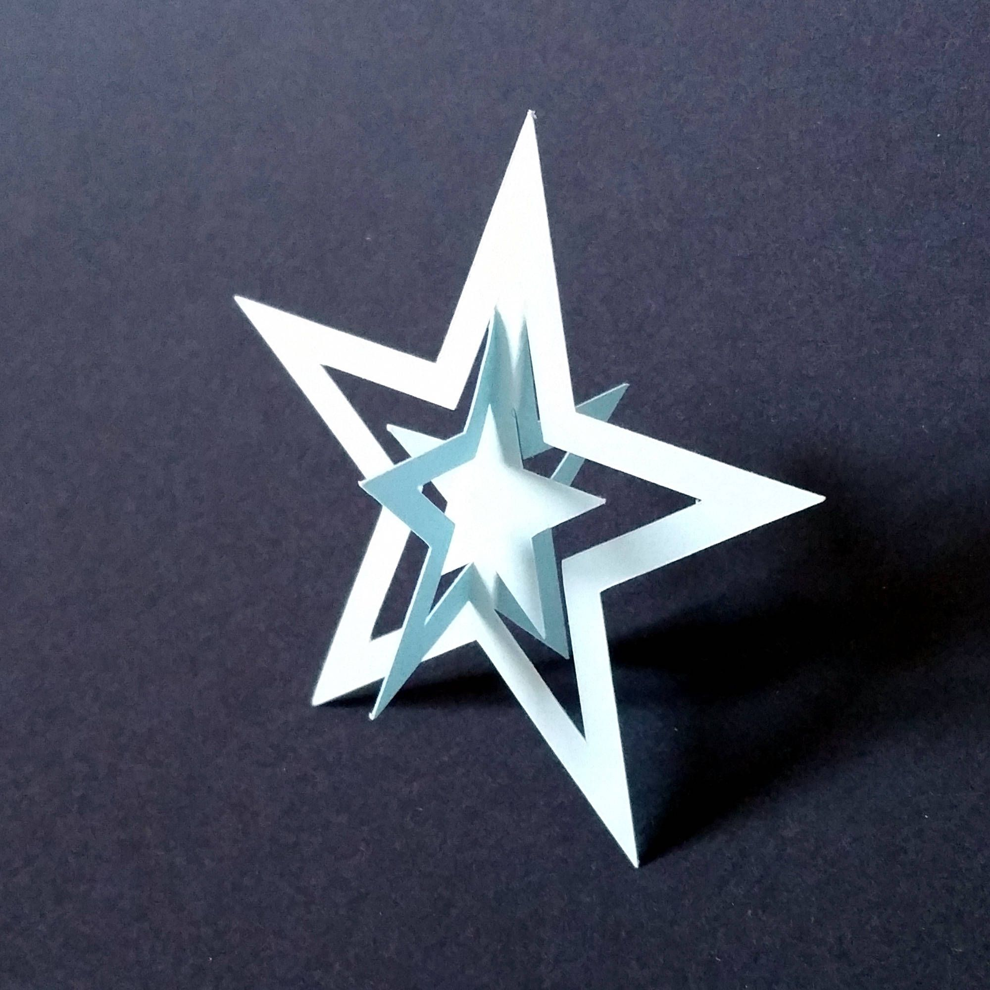 Printable Star Pattern For Pdf Download Enlarge 150 For Full
