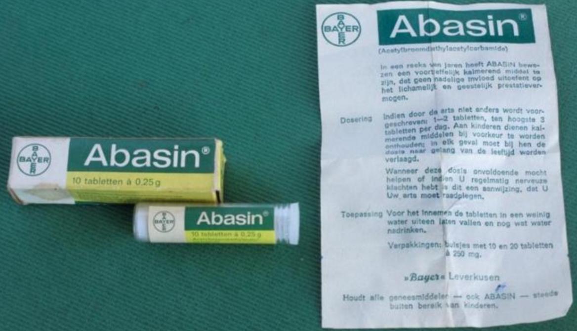 Abasin - kalmeringsmiddel - Bayer Leverkusen