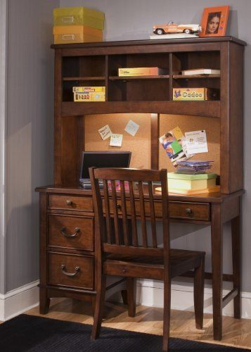 chelsea square student desk hutch by liberty 911 04 material rh pinterest com
