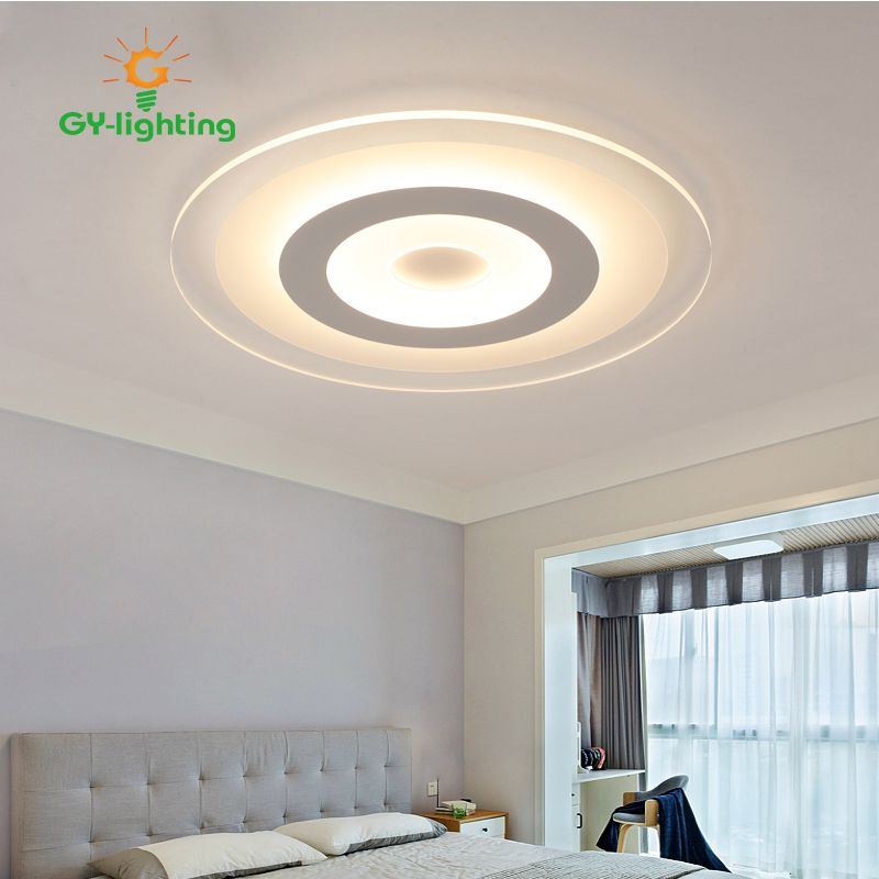 Led Ceiling Lamp Bedroom Ultrathin Light Modern Simple Creative