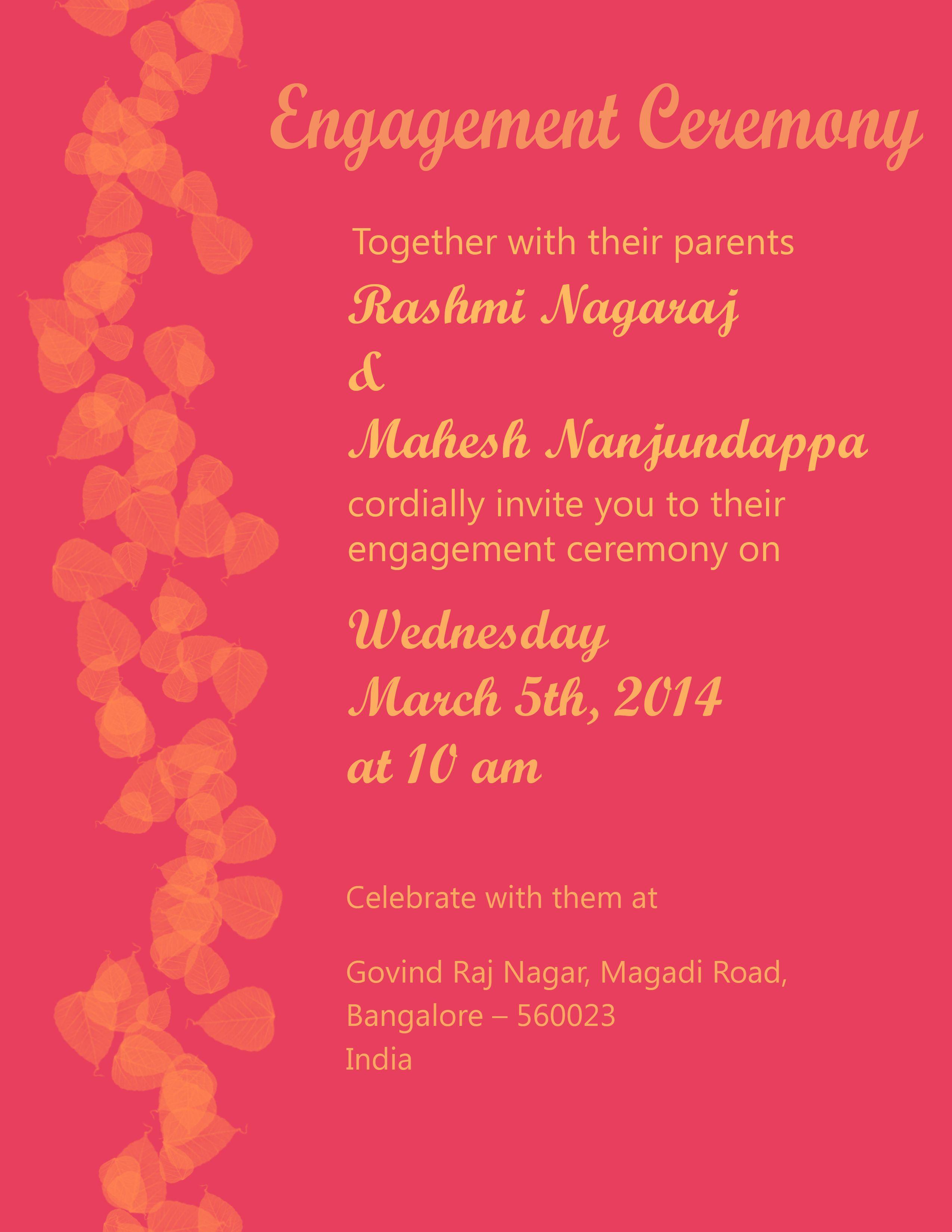 Engagement Invitation Card Design Indian Wedding Engagement Invitation Cards Engagement Invitations Engagement Cards