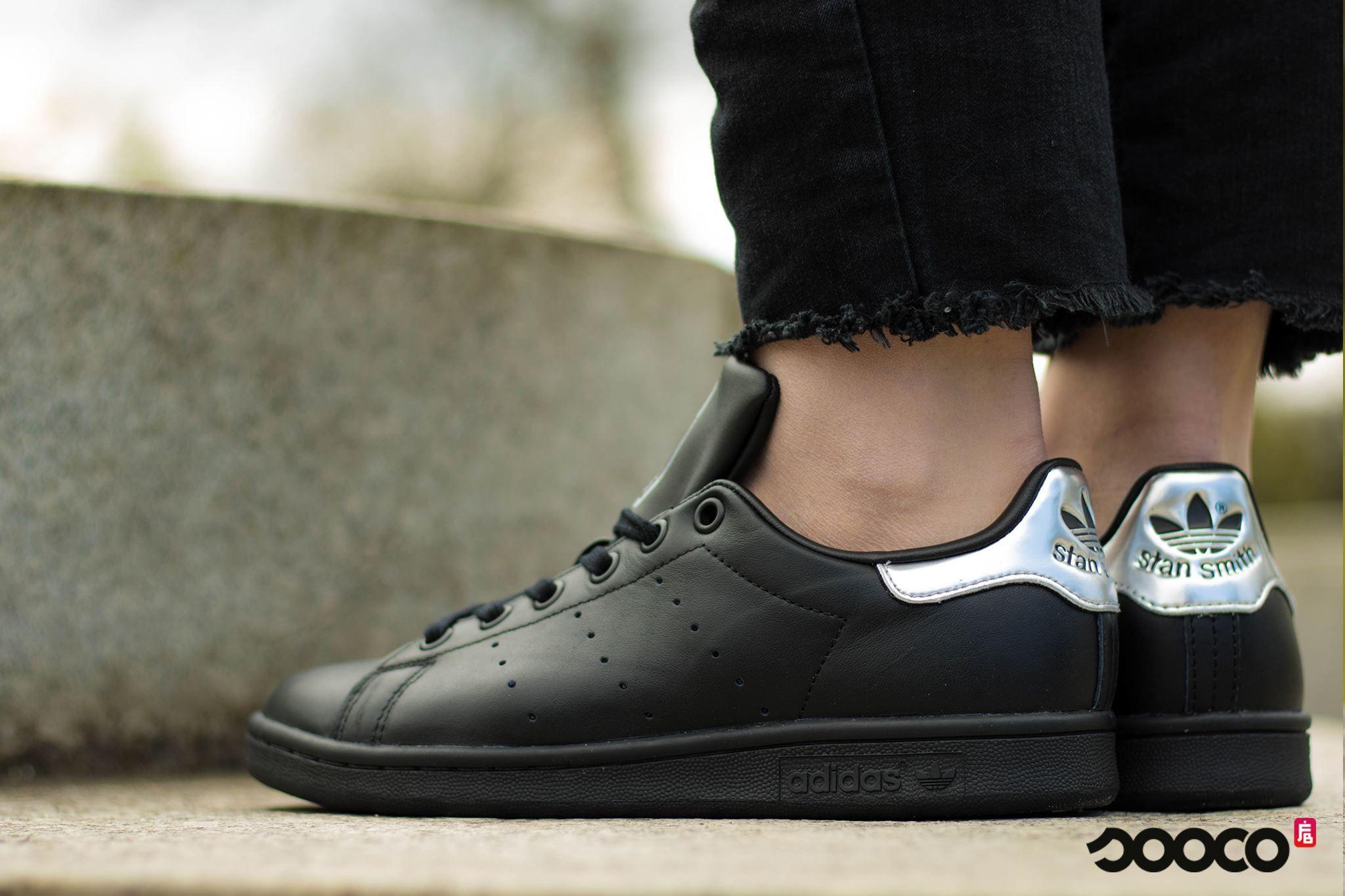 adidas dames sneakers zwart zilver