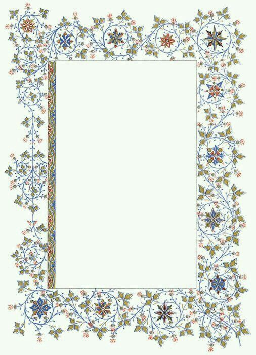 Pin by Liza Dinata on PATTERN \ FRAME \ BORDER Pinterest - paper border designs templates