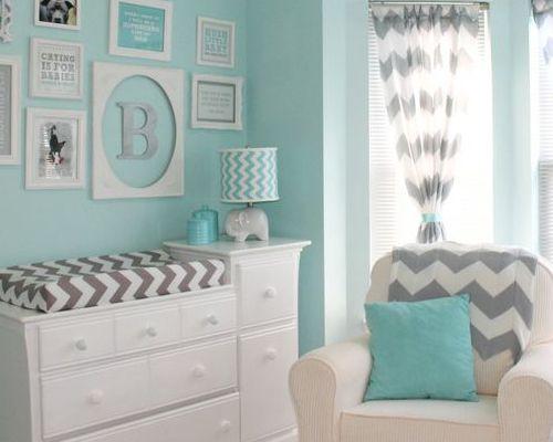 couleur-chambre-bebe Chambre bébé Pinterest Organisation des