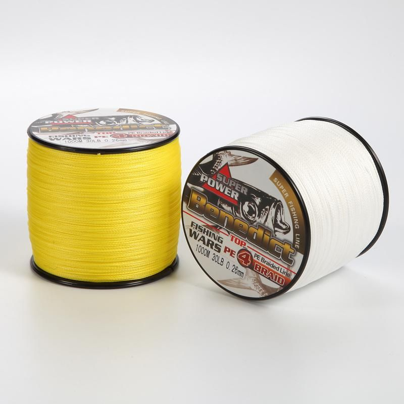 [Visit to Buy] Brands new 1000M fishing cord spectra 6LB-40LB supper strong PE braided fishing line 4 strands 0.1mm-0.33mm fishing tackle  #Advertisement