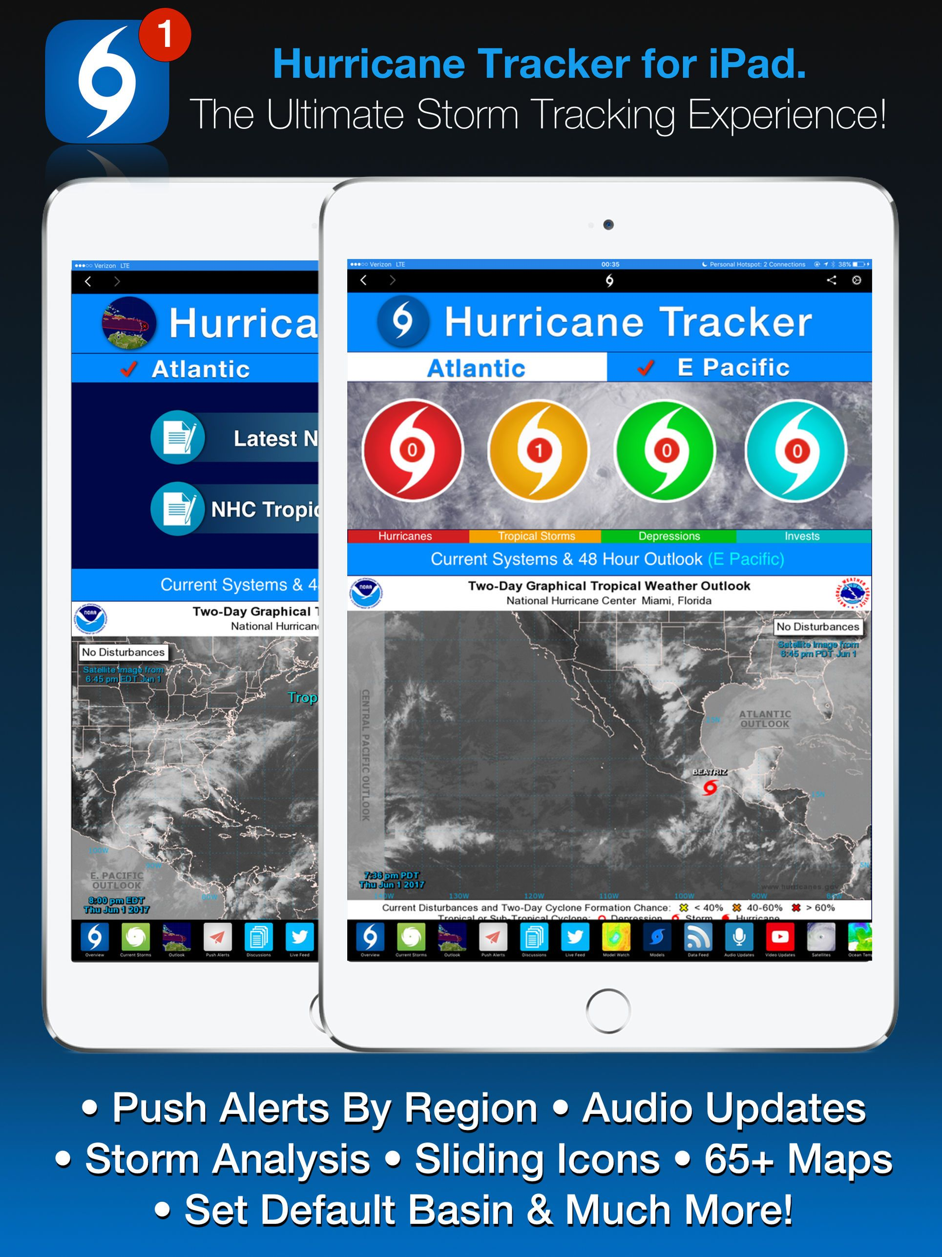 Hurricane Tracker For Ipad Weather Apps Apps Ios Tracker Hurricane Ipad