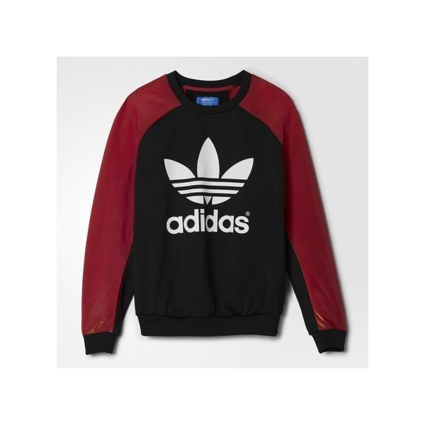 adidas Space Shifter Sweatshirt ($75) ❤ liked on Polyvore