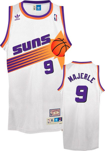 adc6aed04 Dan Majerle from Phoenix Suns Vintage Basketball Jerseys