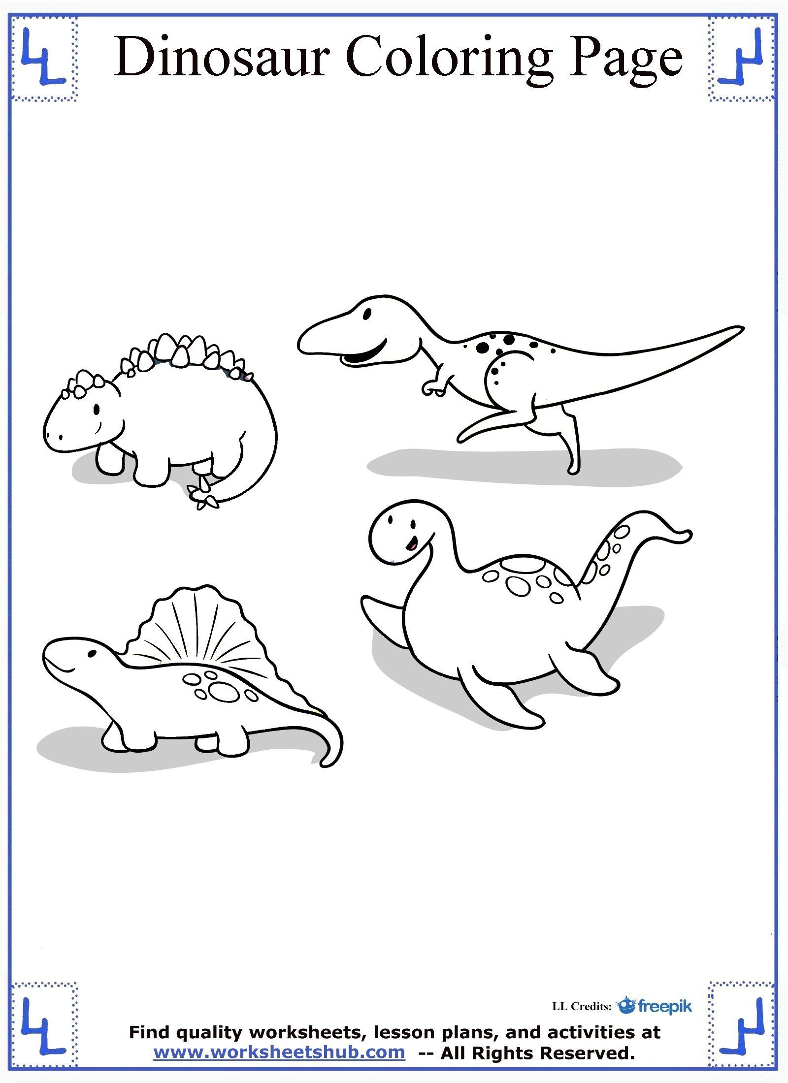 Dinosaur Coloring Pages Coloriage T Rex