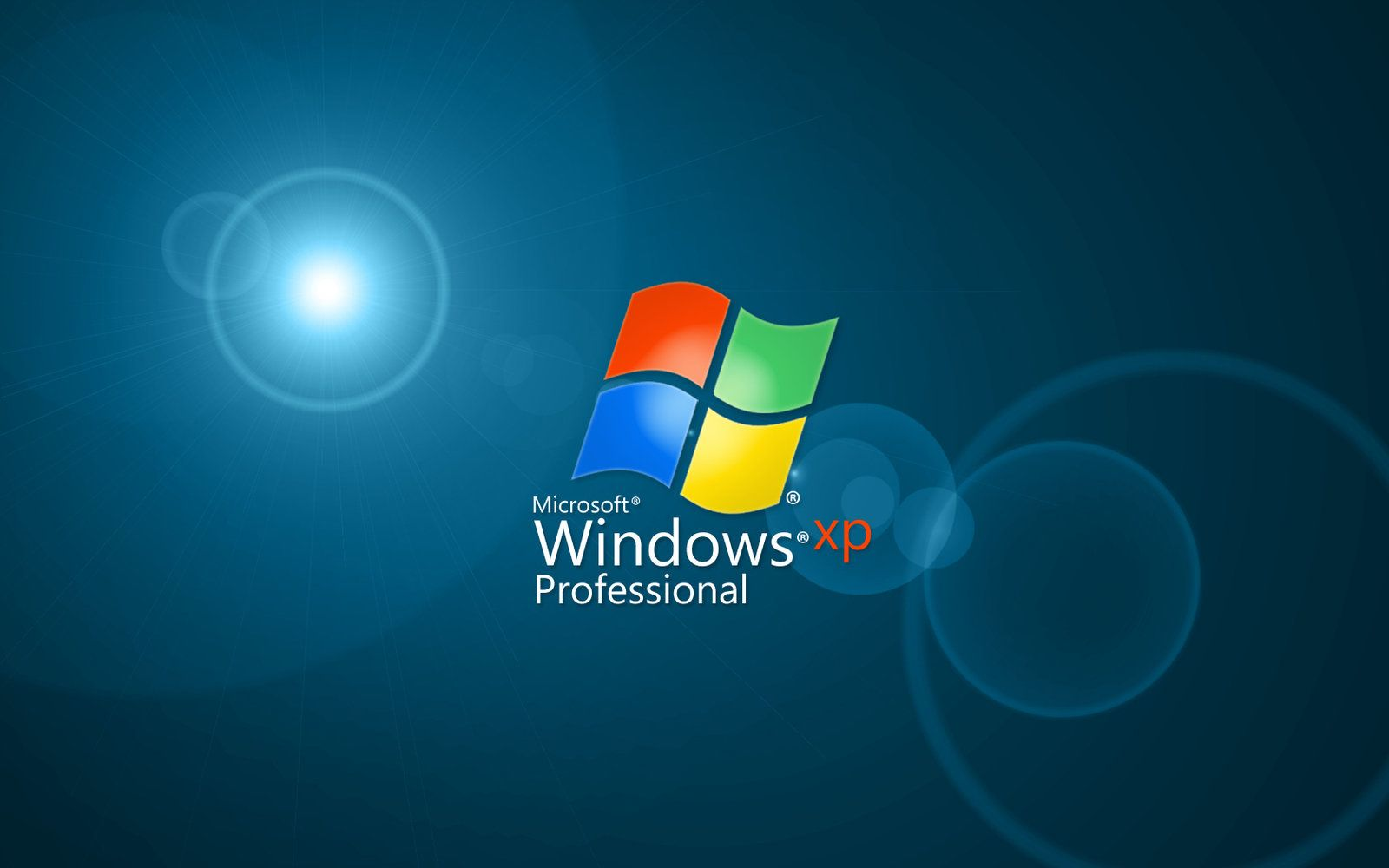 Windows XP Professional HD desktop wallpaper Fullscreen