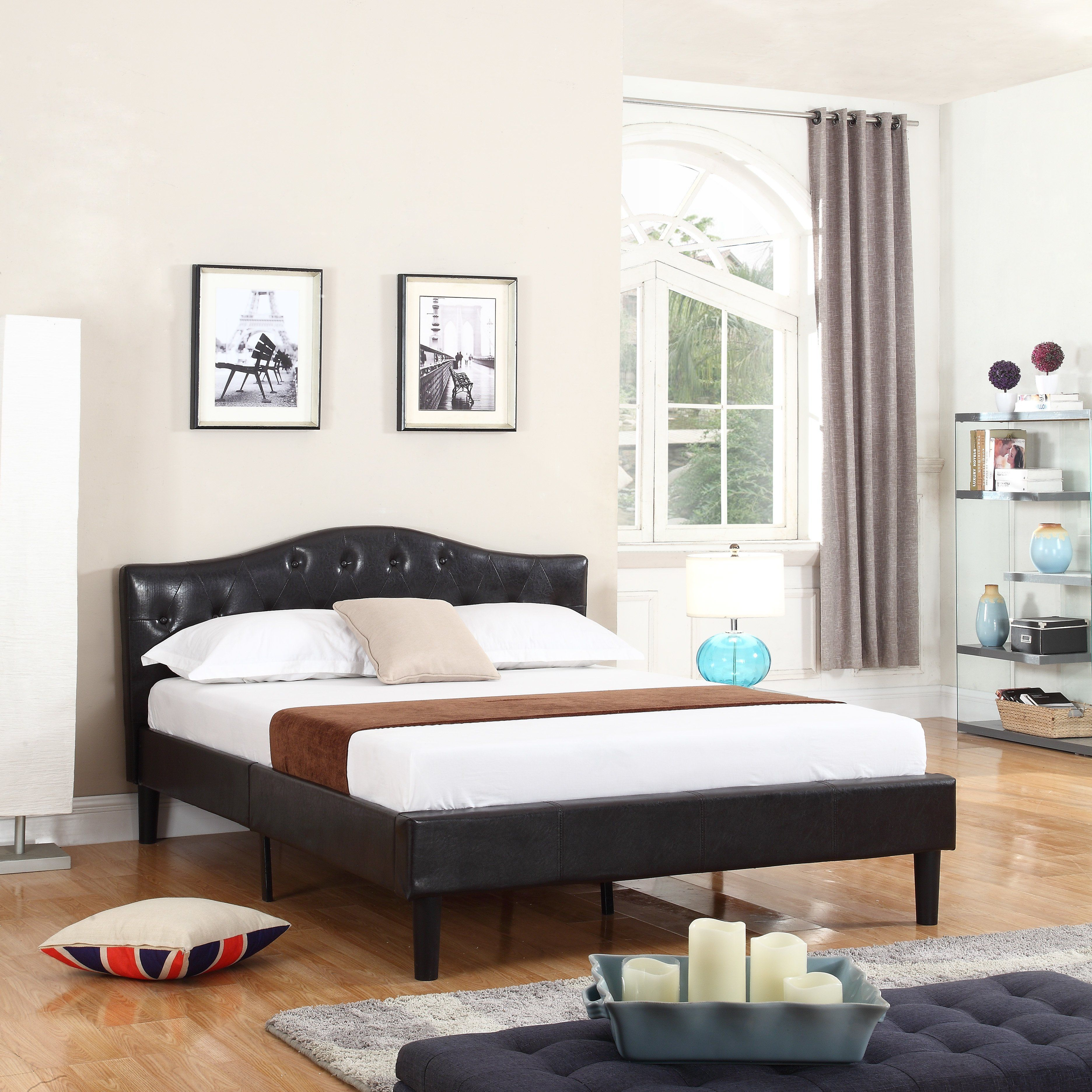 Home interior furniture madison home usa classic deluxe platform bed  apartment pt