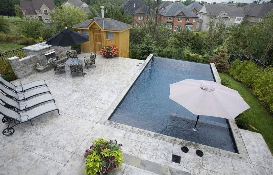 pool shapes features design options outdoor on beautiful inground pool ideas why people choose bedrock inground pool id=26113