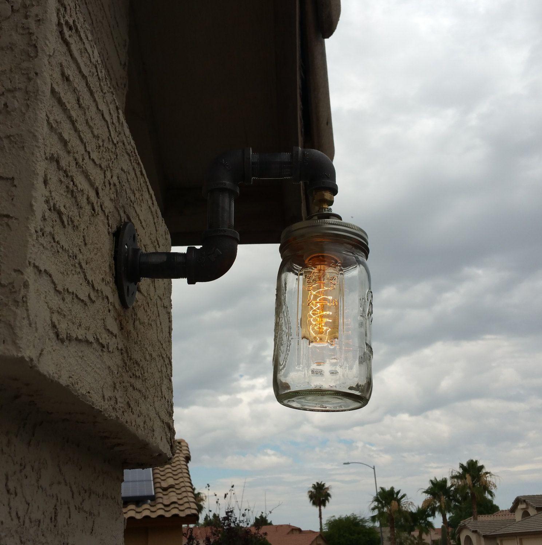 Mason Jar Lighting Rustic Decor Lighting Modern
